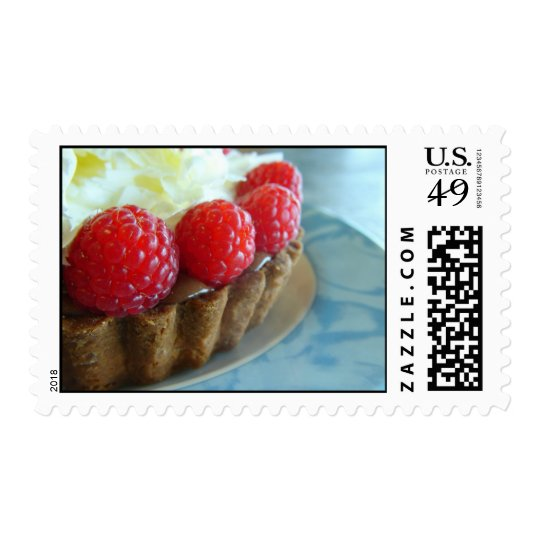 Chocolate Raspberry love! Postage Stamp
