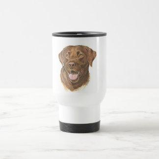 Chocolate Retriever Travel Mug