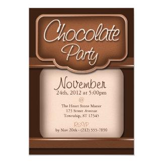 """Chocolate rico: """"Invitaciones del fiesta del Invitación"""