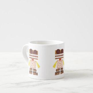 Chocolate Robot Expresso Mug Espresso Cups