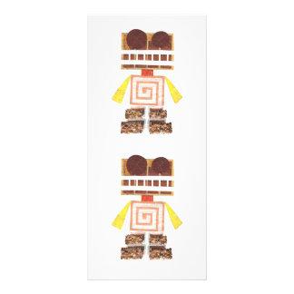 Chocolate Robot Rackcards Customized Rack Card