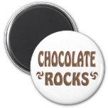 CHOCOLATE ROCKS FRIDGE MAGNET
