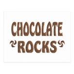 CHOCOLATE ROCKS POST CARD