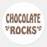 CHOCOLATE ROCKS STICKERS
