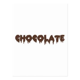 Chocolate - Rocky Horror Style Postcard
