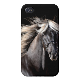 Chocolate Rocky Mountain Horse iPhone 4/4S Covers