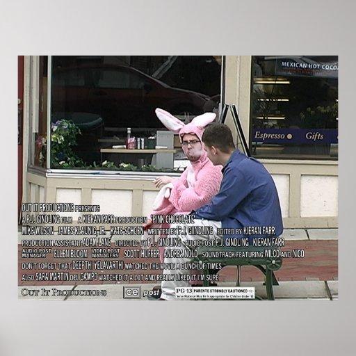 Chocolate rosado - cartel de película 2 poster