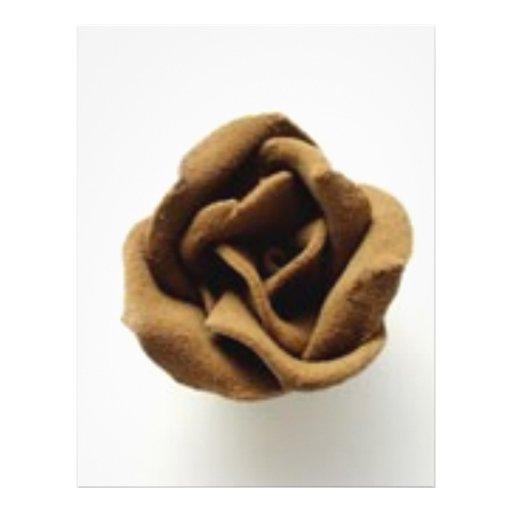 chocolate rose flyer