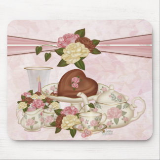 Chocolate Rose Mousepad