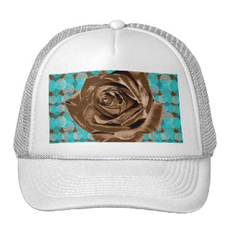 """Chocolate Rose"" pattern collection Trucker Hat"