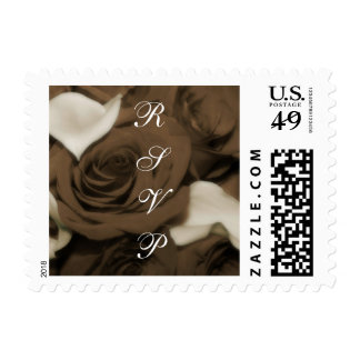 Chocolate Roses RSVP Postage