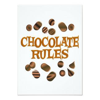 Chocolate Rules Invite