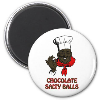Chocolate Salty Balls Chef Grits and Greens South Magnet