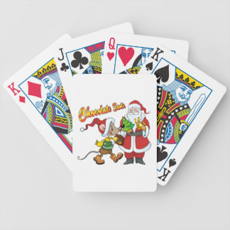Chocolate Santa Card Deck