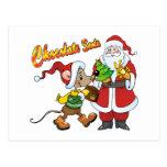 Chocolate Santa Post Cards