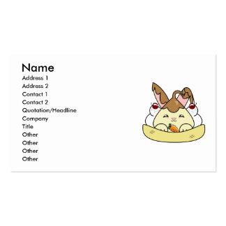 Chocolate Sauce Vanilla Hopdrop Sundae Business Card