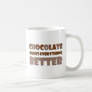 Chocolate Saying Coffee Mug
