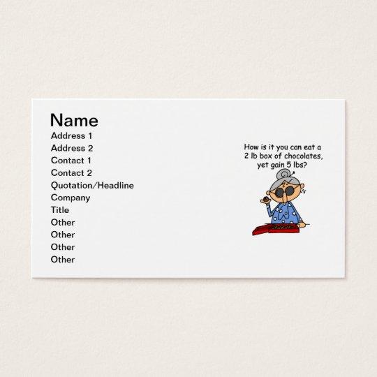 Chocolate Sense Business Card