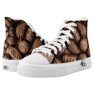 Chocolate shoes for the descriminating taste.