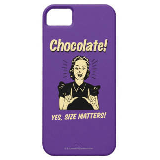 Chocolate: Size Matters iPhone SE/5/5s Case