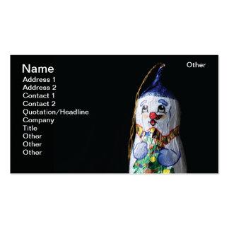 Chocolate Snowman Business Card Templates