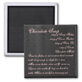 Chocolate Soap Recipe Magnet silk