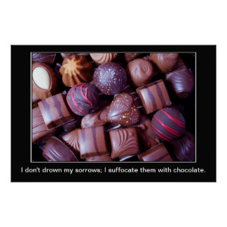 Chocolate Sorrows Posters