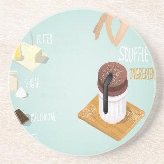 Chocolate Soufflé Day - Appreciation Day Coaster