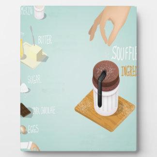 Chocolate Soufflé Day - Appreciation Day Plaque