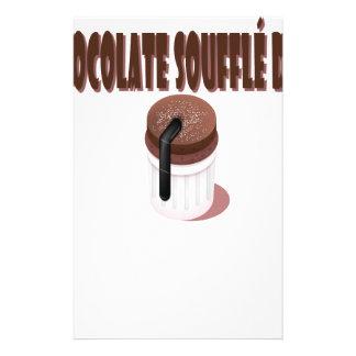 Chocolate Soufflé Day - Appreciation Day Stationery