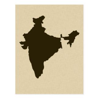 Chocolate Spice Moods India Postcards