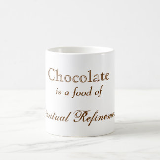 Chocolate Spiritual Refinement Coffee Mug