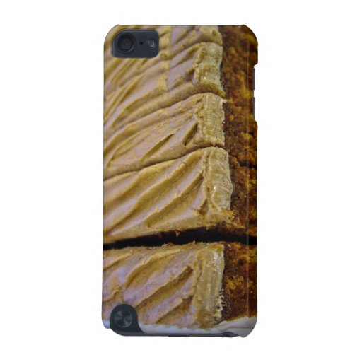 Chocolate sponge cake with chocolate buttercream iPod touch 5G case