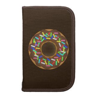 chocolate sprinkle donut folio planner