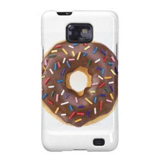 Chocolate Sprinkle Doughnut Samsung Galaxy SII Cases