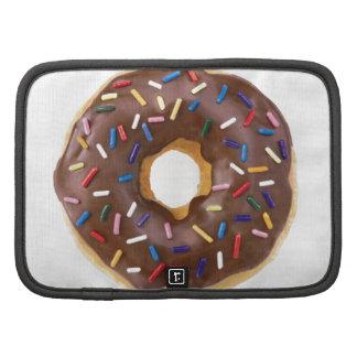 Chocolate Sprinkle Doughnut Folio Planner