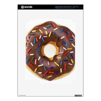 Chocolate Sprinkle Doughnut iPad 3 Decals