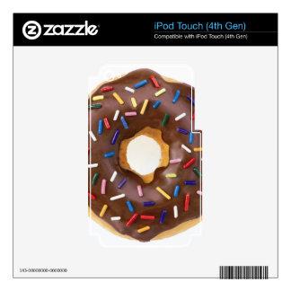 Chocolate Sprinkle Doughnut iPod Touch 4G Skin