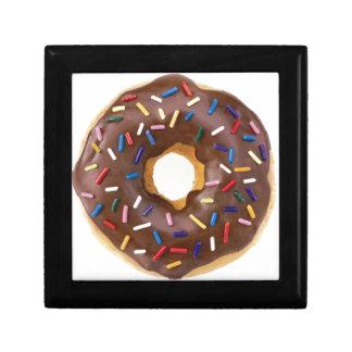 Chocolate Sprinkle Doughnut Keepsake Boxes