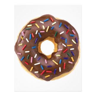 Chocolate Sprinkle Doughnut Letterhead