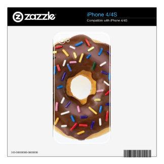 Chocolate Sprinkle Doughnut Skin For iPhone 4S