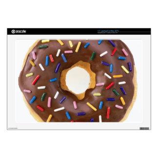 Chocolate Sprinkle Doughnut Skin For Laptop