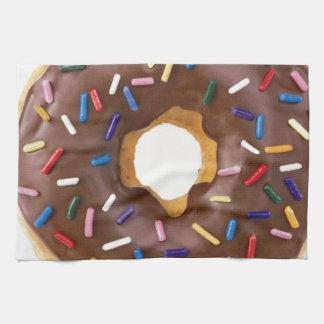 Chocolate Sprinkle Doughnut Towels