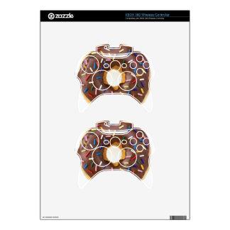 Chocolate Sprinkle Doughnut Xbox 360 Controller Skin