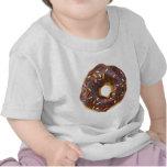 Chocolate Sprinkles Doughnut Tshirts