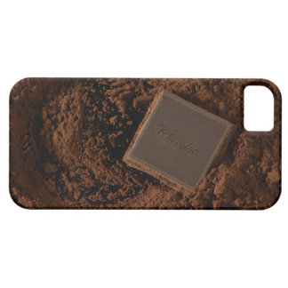 Chocolate Square in Chocolate Powder iPhone 5 Cover