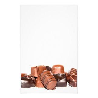 Chocolate Stationery