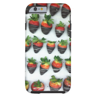 Chocolate Strawberries Tough iPhone 6 Case