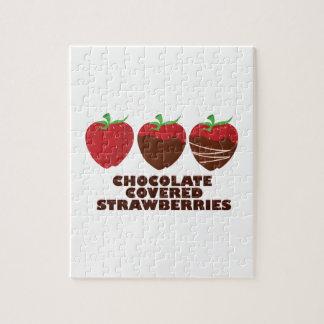 Chocolate Strawberries Jigsaw Puzzle