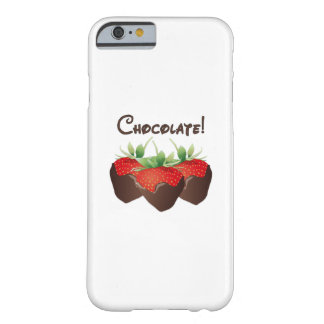 Chocolate Strawberry Barely There iPhone 6 Case